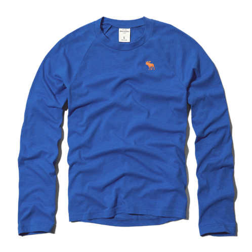 boys crew long sleeve tee