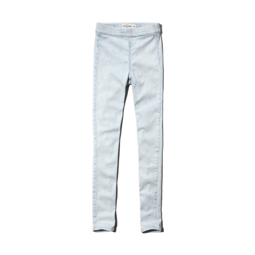 girls a&f ellie high rise jean leggings