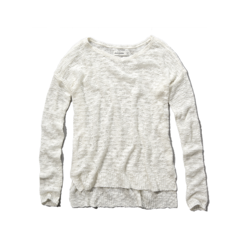 girls lightweight sweater