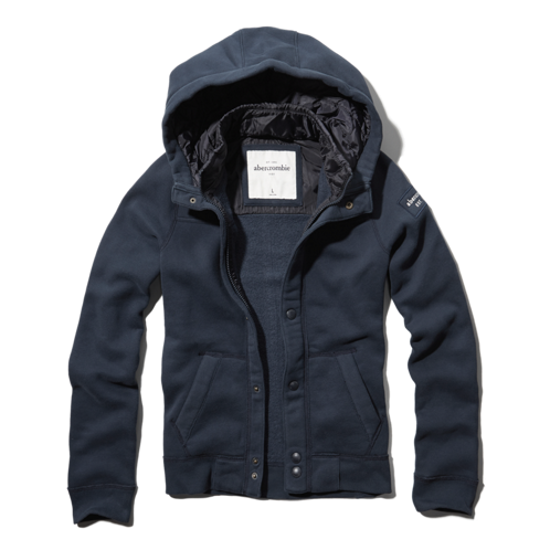 boys button-down hoodie jacket