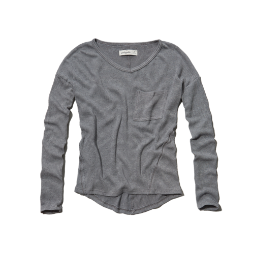 tops long sleeve snit