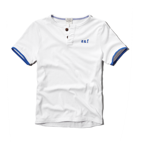 boys pop color henley