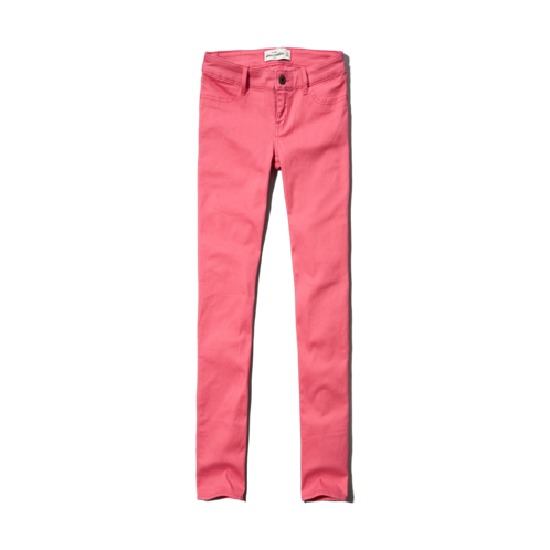 girls a&f hailey high rise jeggings