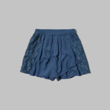 girls lace wrapped skort