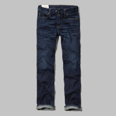 girls a&f classic straight jeans