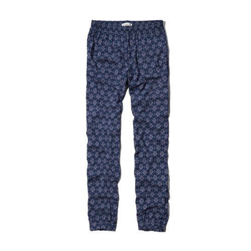 girls printed drapey pants