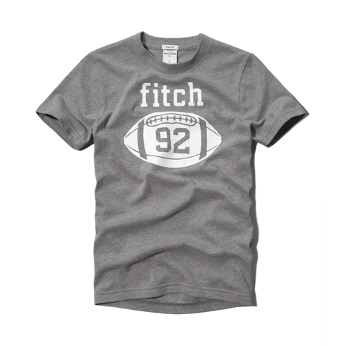 guys athletic graphic tee