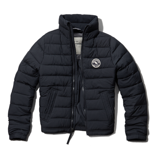 boys packable lightweight puffer jacket