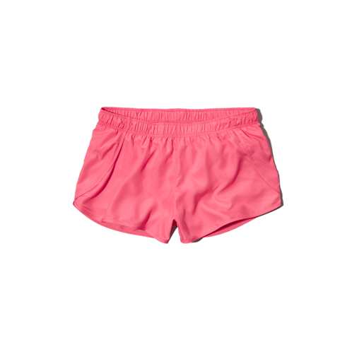 girls a&f active track shorts