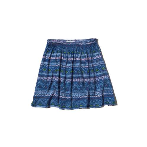 girls vintage pattern skater skirt