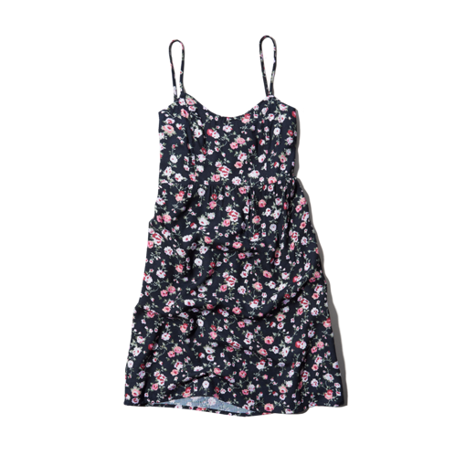 girls printed babydoll dress
