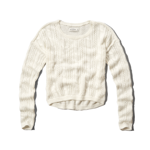 cable knit cropped sweater cable knit cropped sweater