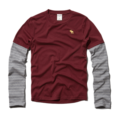 boys layered long-sleeve tee