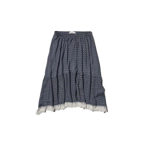 girls printed midi skirt