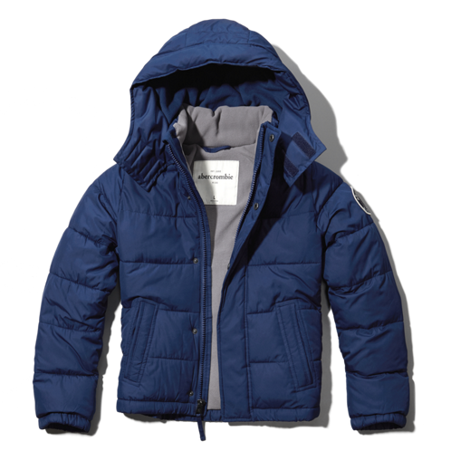 boys classic puffer jacket