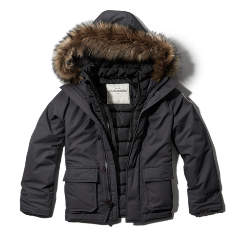 boys nylon parka