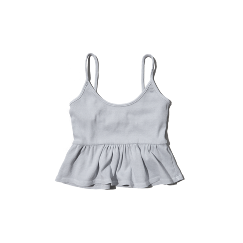 girls cropped swing cami