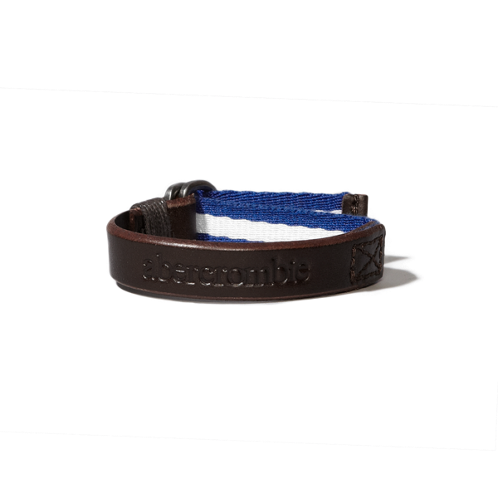 guys braided leather bracelet