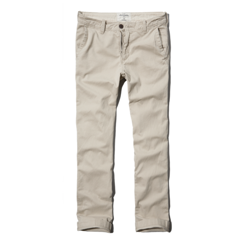 boys a&f slim straight chinos