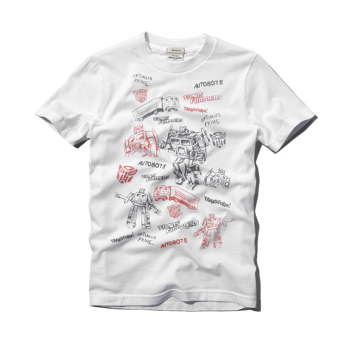 boys superhero collage graphic tee