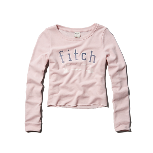 logo cropped sweatshirt logo cropped sweatshirt