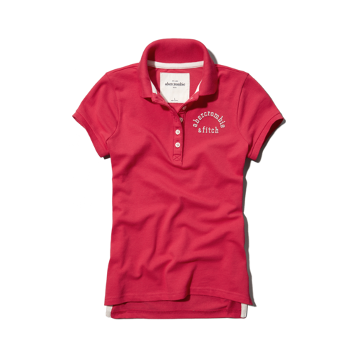 girls classic polo