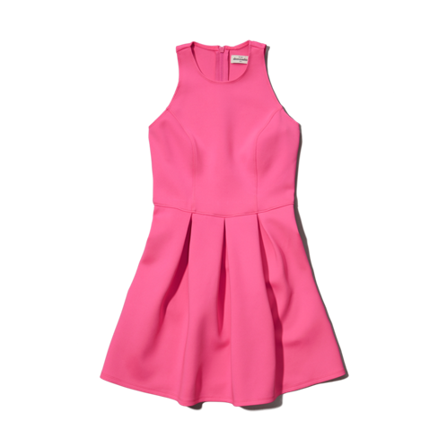 girls neoprene skater dress