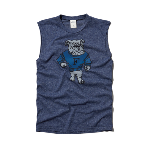 boys sleeveless graphic tee