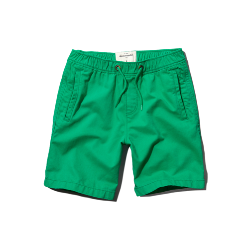 boys a&f prep fit shorts