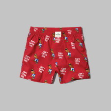 girls gingerbread man boxers