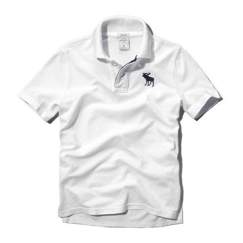 boys signature icon polo