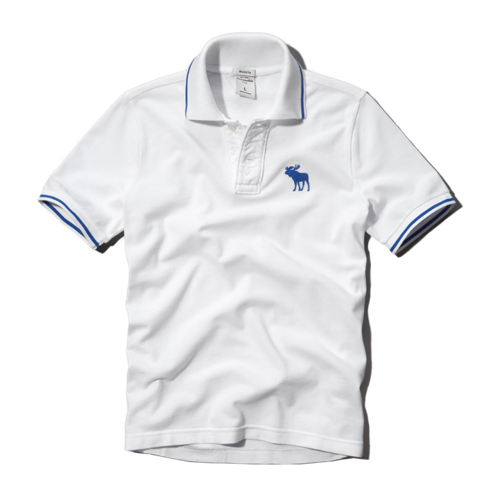boys pop color trim polo