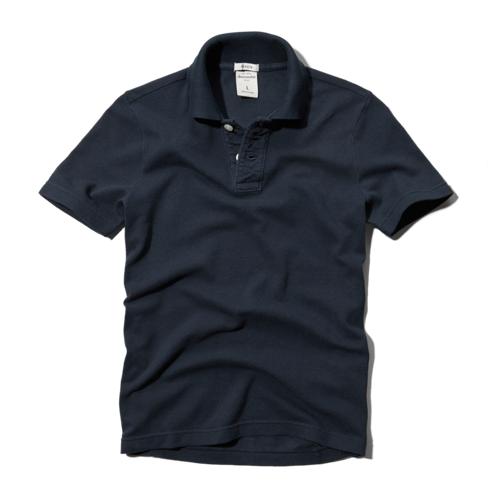boys classic solid polo