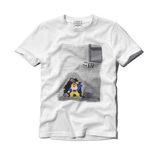 boys 8 bit graphic tee