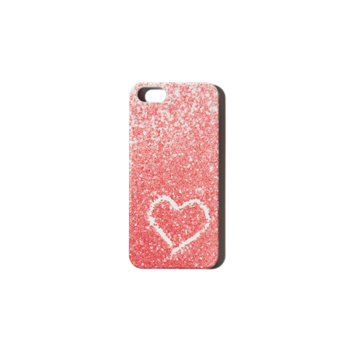 girls glitter phone case