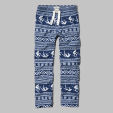 girls ski graphic sleep pants