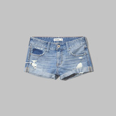girls a&f low rise boyfriend shorts