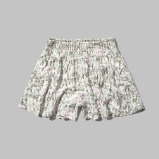 girls floral lace soft shorts