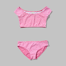 girls marilyn two-piece crop swimsuit