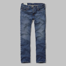 girls a&f slim straight jeans