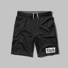 girls a&f mesh athletic shorts