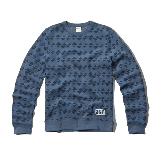 boys pattern crew neck sweatshirt - 267.0KB