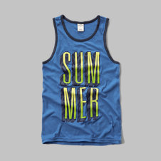 girls summer! graphic tank
