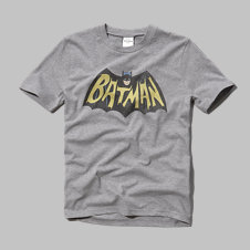 girls vintage batman graphic tee
