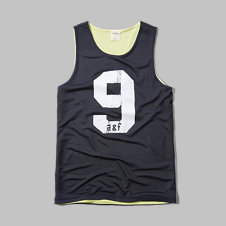 girls reversible mesh jersey