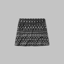 girls patterned a-line skirt