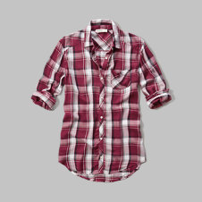 girls drapey pocket shirt