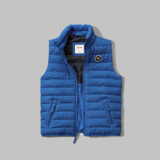 girls lightweight puffer vest