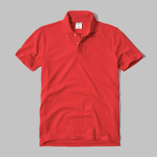 girls solid polo