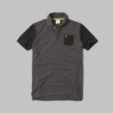 girls colorblock pocket polo